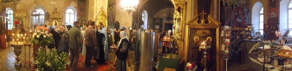 Иоакимо — Анновский  храм  Можайска